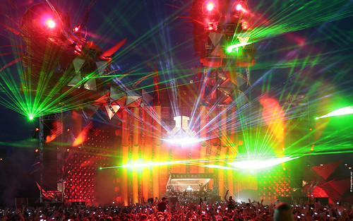 Defqon.1 2009. Widescreen wallpaper (Headhunterz)