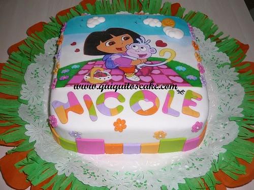 Torta de Dora la exploradora imagui - Imagui