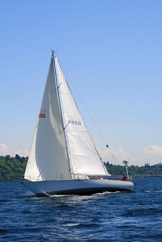 sailboat sailing pugetsound