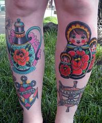 almost (silje/vanilje) Tags: summer cute tattoo colorful pretty bright teapot russian shin matryoshka nestingdoll stackingdoll