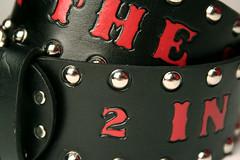 039 (amina.munster) Tags: leather belt painted accessories buckle personalized beltbuckle leatherbelt kyodtcom customleatherbelt