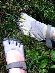 Our new Vibram FiveFingers Shoes (Sprint / KSO)