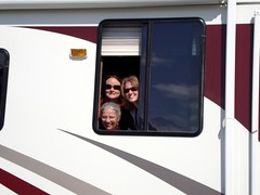 JJ and Marth RV Seward June 2009  RV-n ladies