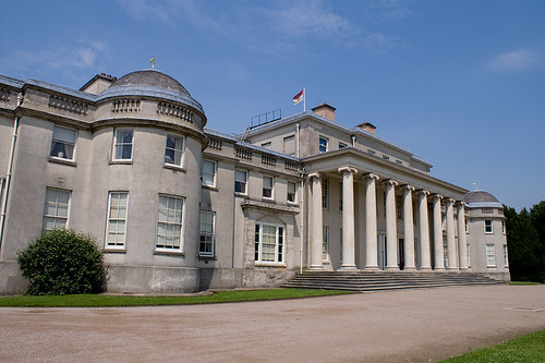 Front of Shugborough hall