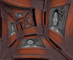 (Michael LaPalme) Tags: selfportrait frames recursive infinite escheresque droste mathmap michaellapalme