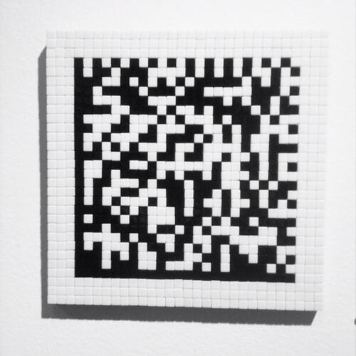 Invader QR Code