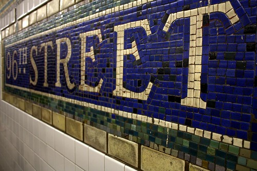 96th Street Subway Mosaic