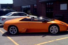 Orange Rocks (caribb) Tags: auto orange canada beautiful car automobile montréal quebec montreal awesome machine voiture québec lambourghini sportscar italiancar expensivecar worldcars iphonephotos