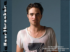 Wallpaper:  Robert Pattinson:  Heartbreaker [1024 x 768]