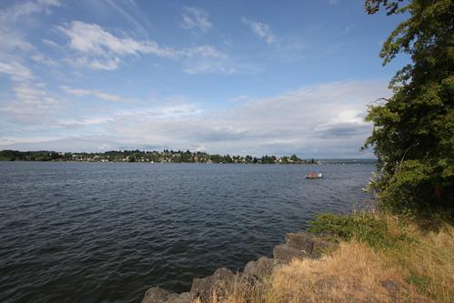 Canoeing Lake Washington