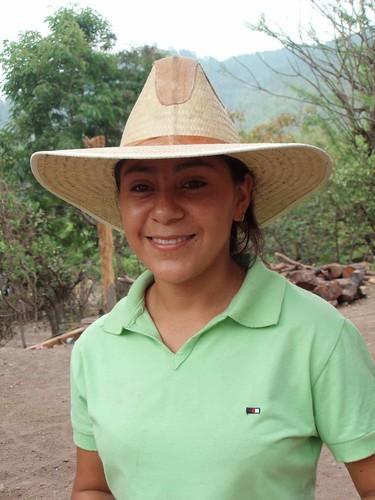Retrato de una amiga - Portrait of a friend; Aldea El Bramadero, Estelí, Nicaragua