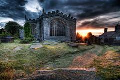 Clynnog-fawr Church @ Sunset