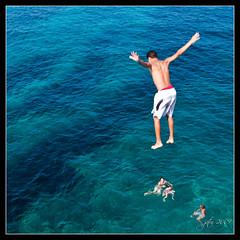 Salto (scarabaeus sacer) Tags: sea summer beach marina playa verano almera p1 rodalquilar platinumphoto platinumheartaward a3b nikond300 thechallengefactory jatm64