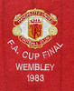 Manchester United 1983 FA Cup Final badge