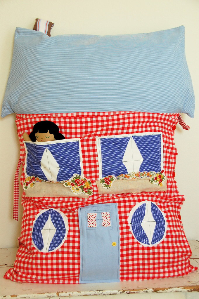 the dollhouse pillow
