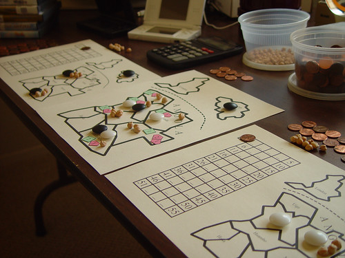 Go Stones + Chickpeas + Pennies == DS Game
