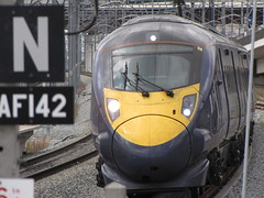 High Speed Preview at Ebbsfleet (rcarpe2) Tags: speed train high class preview 395 ebbsfleet