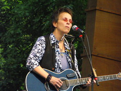 Mary Gauthier frowns (Michael Bialas) Tags: concert over folksfestival music folk doug rhine karinbergquistcoloradomarygauthiermadeleinepeyrouxlyons rufus wainwright maclean