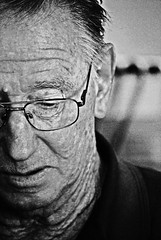 Grandpa (giraffe2605) Tags: old bw glasses australia grandpa wrinkles  lkphotography giraffe2605
