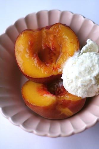 peach brulee