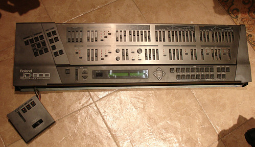 Roland JD-800 modded #1