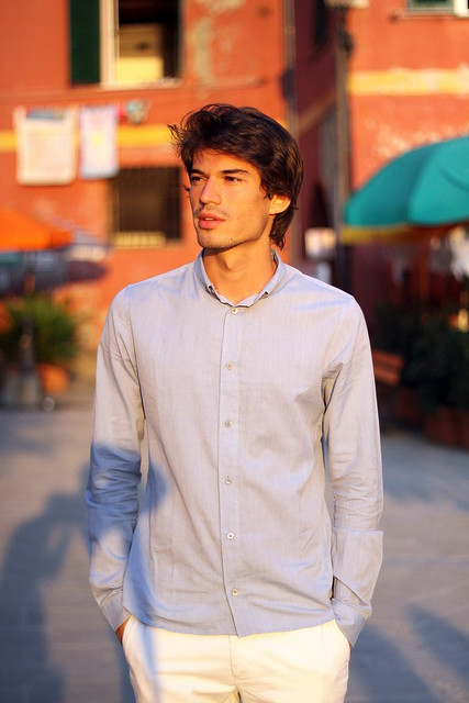 Un bello ragazzo italiano
