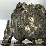 Hvitserkur (Basalt rock)