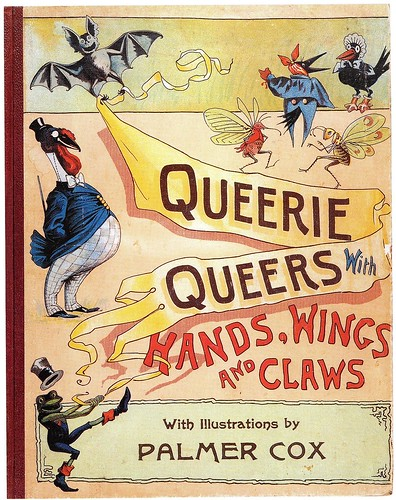 Queerie Queers with Hands, Wings and Claws