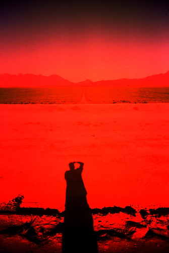 shadow red arizona portrait favorite mountain film analog self 35mm lomo xpro lomography kevin slim cross desert farm wide theory az tagged research sp ten dooley viv vivitar processed ultra academic publications kd vuws vivalaviv