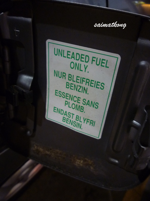 Unleaded Only