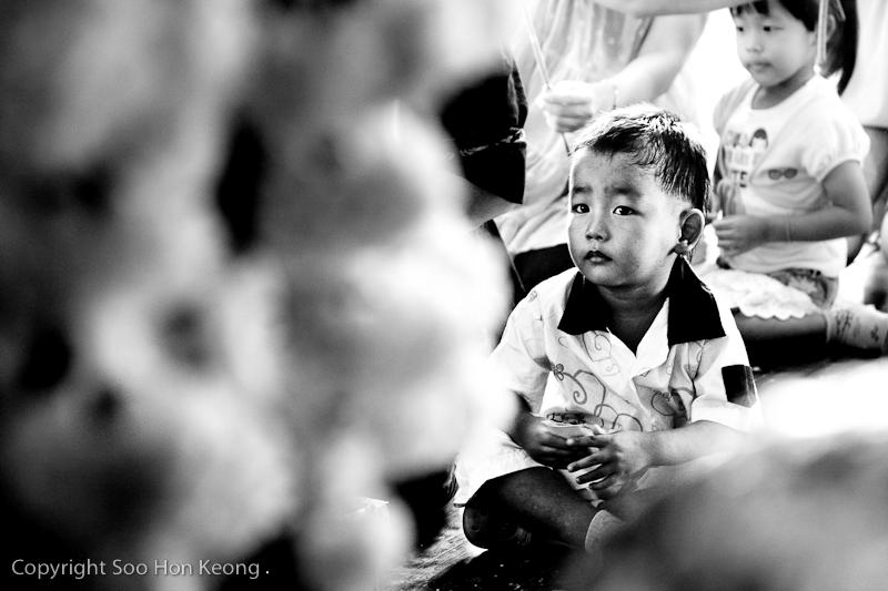 Candid at temple @ Amphawa, Thailand