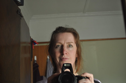 self-portrait with new camera