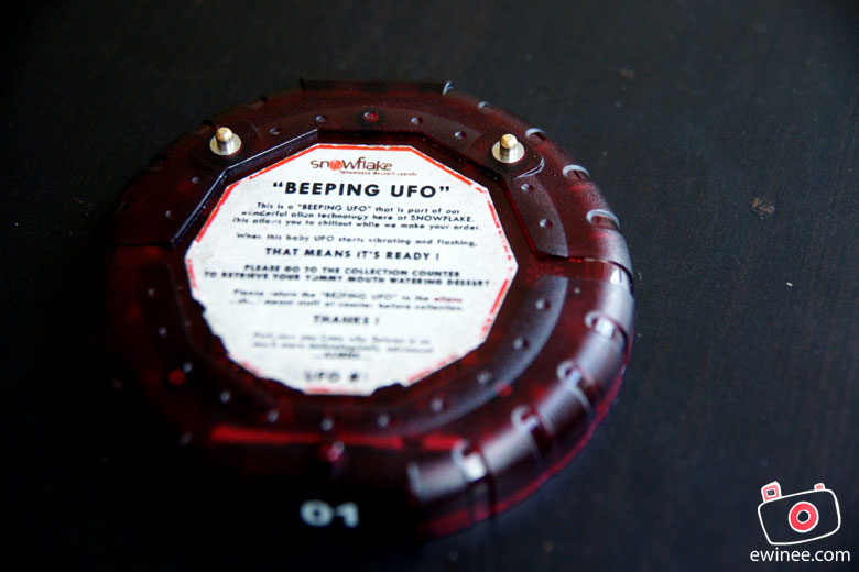 SnowFlake-beeping-UFO