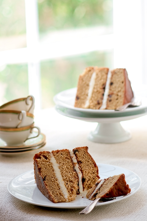 Muscovado Date Cake With Maple Sugar Buttercream