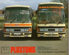 Wallace Arnold FUA394Y & FUA 383Y (miledorcha) Tags: bus volvo coach yorkshire leeds wa scarborough tours executive paramount psv pcv plaxton wallacearnold b10m luxurytravel euroways fua394y fua383y