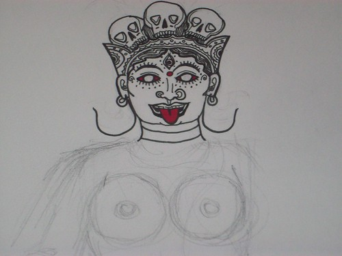 Emerging Art: Kali Detail
