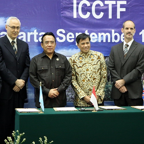 Indonesia Climate Change Trust Fund (ICCTF) soft launch on Bappenas
