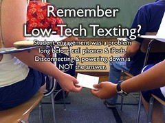 Low-tech texting . . . by jonmott, on Flickr
