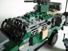 Dragoon Mk.II (4) (Aleksander Stein) Tags: lego military vehicle patrol mkii dragoon apv armoured kmv hagglunds