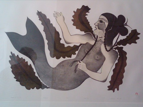The Inuit Sea Goddess