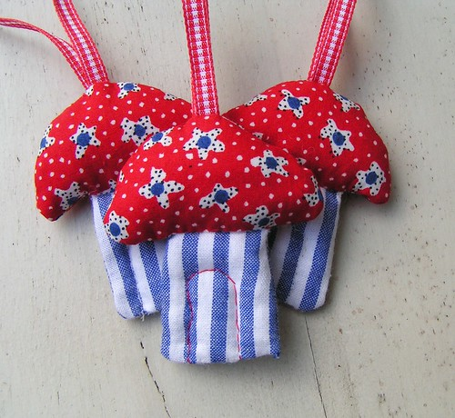 small dutch toadstool ornaments