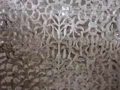 Lattice work inside the Taj