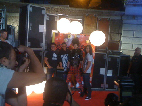 26.9.2009 Rome - MTV Coca Cola Live. por seetomkaulitz.