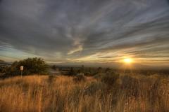 """Above SLC (""""JT"""" Taylor) Tags: sunset sky canon landscape eos utah 1022 40d"""