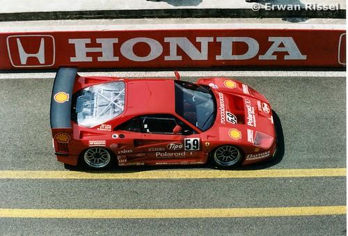 Ferrari F40 Gte. #59 Ferrari F40 GTE