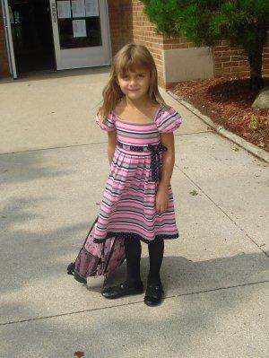 Karli First Day of School