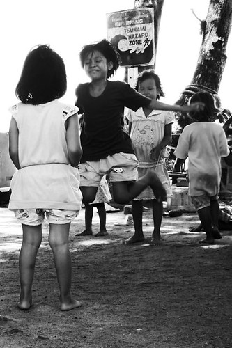 Village children at play (Rawai, Phuket)