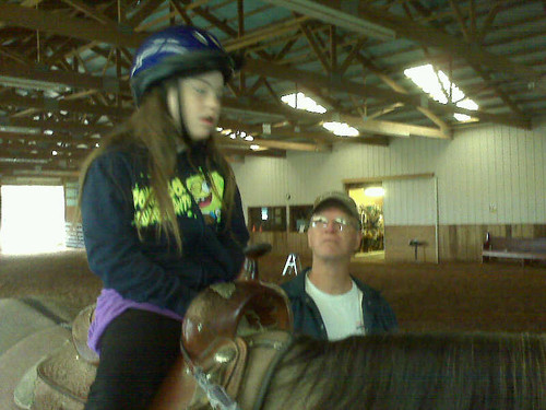 first day of horse therapy