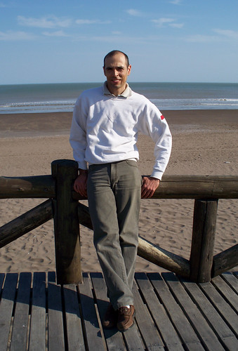 Daniel on the Boardwalk in Monte Hermoso by katiemetz, on Flickr