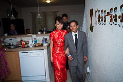 Phil & Loan Tea CM-107 (iPix Studio) Tags: wedding red cute girl vietnamese tea chinese ceremony vietnam dai ao